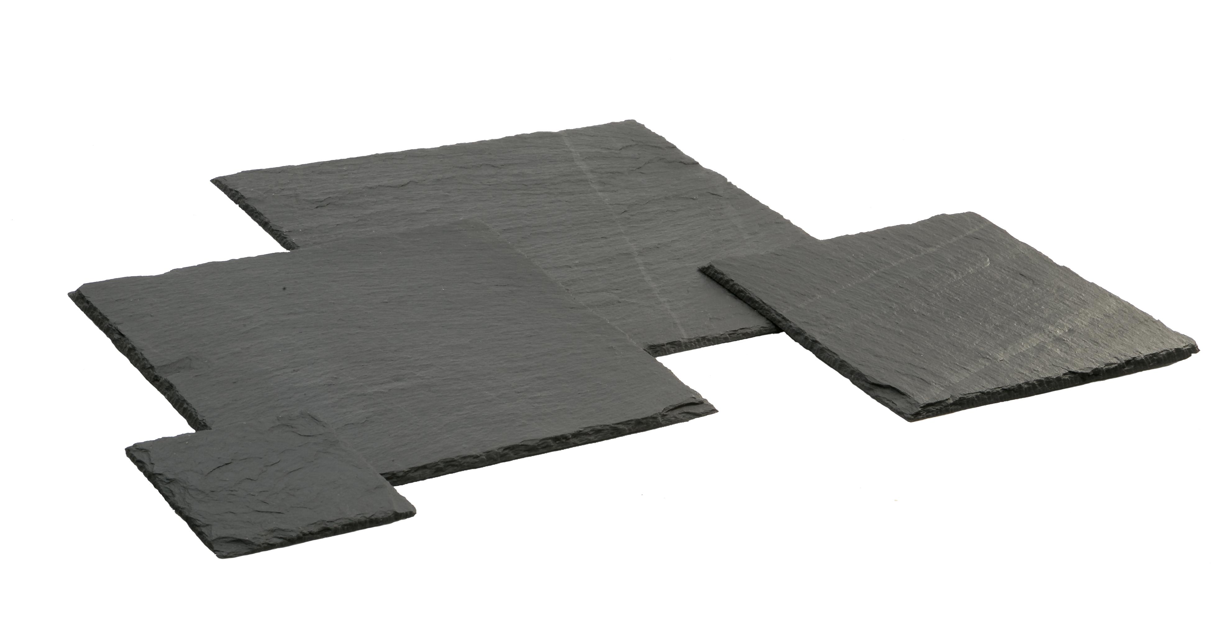 Viereck und Quadrate in verschiedenen Größen