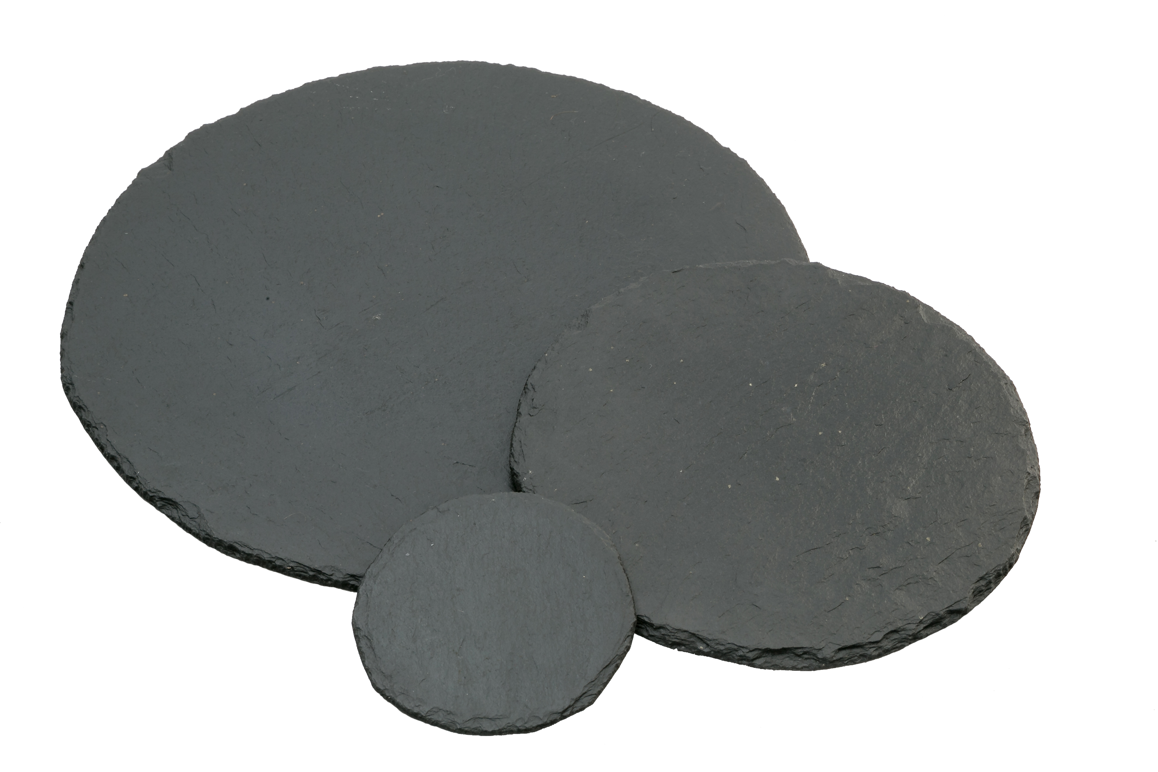 Schieferplatte Kreis/rund in versch. Größen