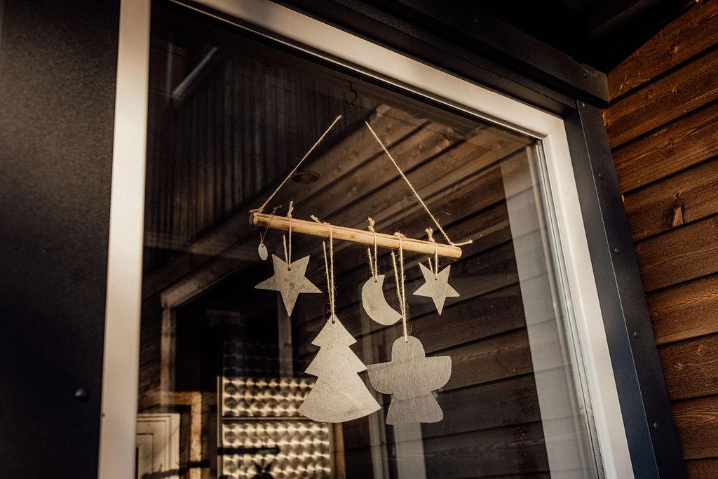 SchieferDeko Weihnachten Engel Sterne